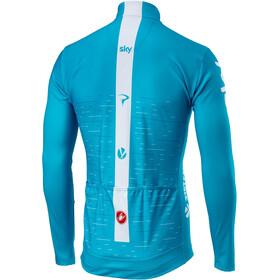 Castelli Team Sky Thermal LS Jersey Full Zip Men sky blue